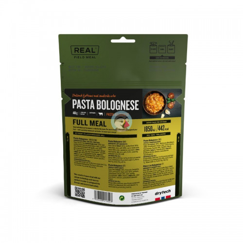 REAL Drytech - Pasta Bolognese FULL MEAL