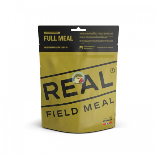 REAL Drytech - Kabeljau in cremiger Currysauce FULL MEAL