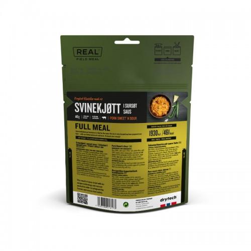 REAL Drytech - Schweinefleisch in süss-saurer Sauce FULL MEAL