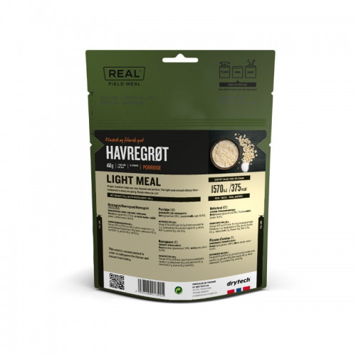 REAl Drytech - Haferbrei LIGHT MEAL