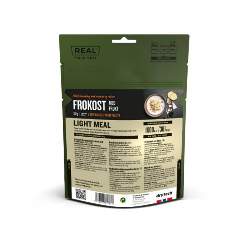 REAL Drytech - Früchtemüesli LIGHT MEAL