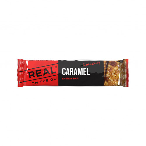REAL Dry tech - Caramel Energy Bar
