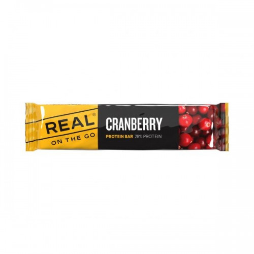 REAL Drytech - Cranberry Protein Bar 28% Protein