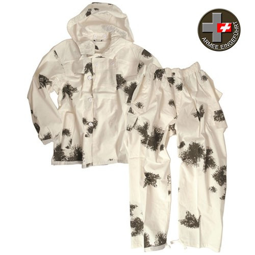 MIL-TEC - Cotton 2pcs Snow Camo Suit