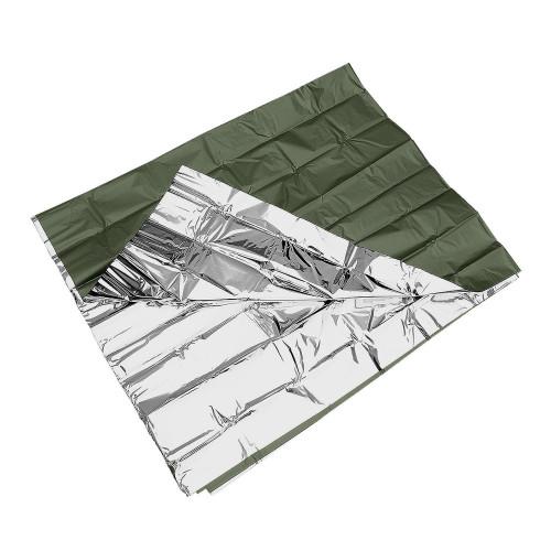 MIL-TEC - Survival Blanket OD/Silver