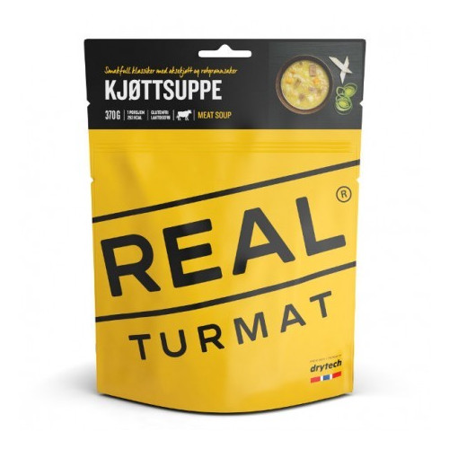 REAL Drytech - Turmat Fleischsuppe