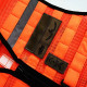 DIVICUS - Reflective MOLLE vest Orange