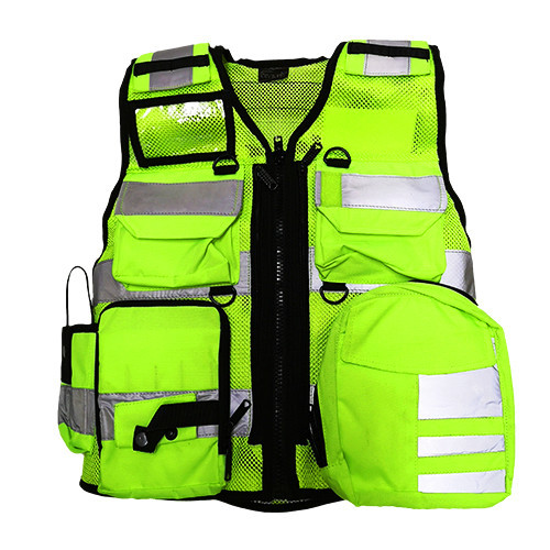 DIVICUS - Reflective vest PRO Yellow-Lime