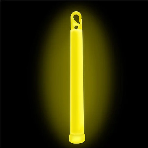 TAC SHIELD - Tactical Lightstick Yellow (10 Piece Box)