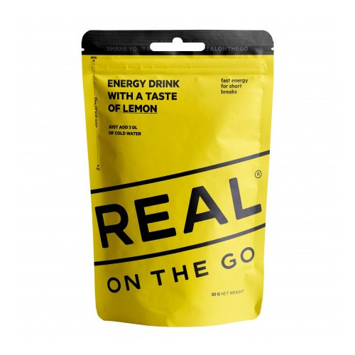 REAL Drytech - Lemon Energy Drink