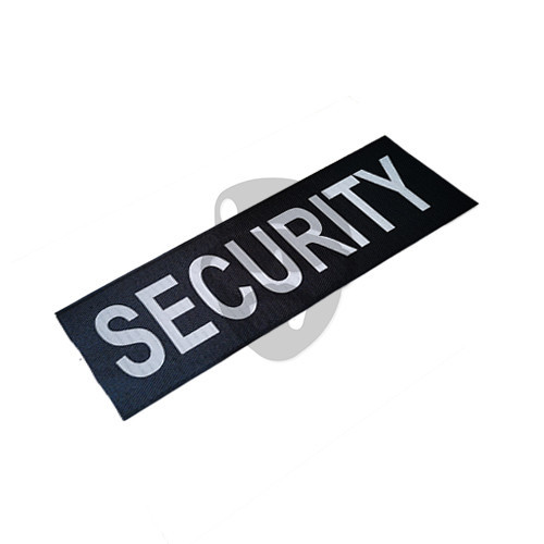 "OTD - Reflective Patch ""SECURITY"""