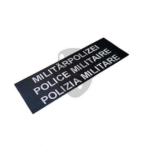 "OTD - Reflective Patch ""POLIZIA MILITARE"""
