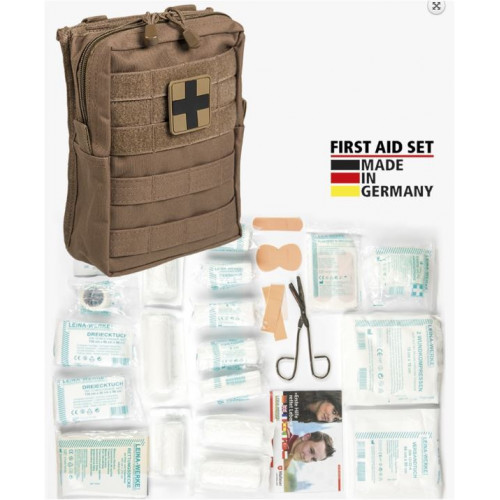 MIL-TEC - First Aid Set ′LEINA′ PRO Dark Coyote