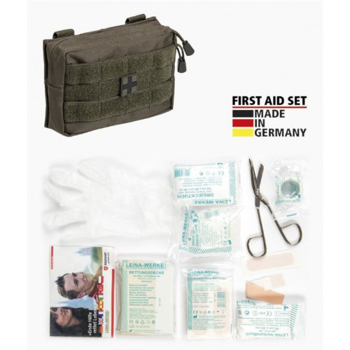 MIL-TEC - First Aid Set ′LEINA′ PRO 25pcs Olive