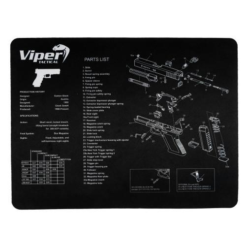 Viper - Gun Cleaning Mat - Glock