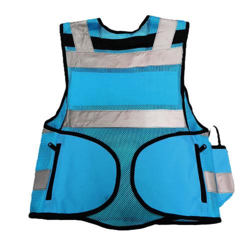 DIVICUS - Reflective vest PRO Blue