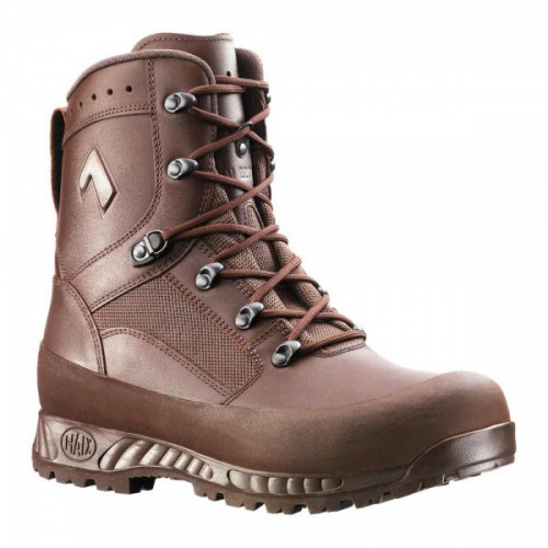"Haix - Great Britain combat boots, ""HIGH LIABILITY"" Brown"