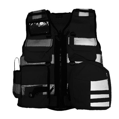 DIVICUS - Reflective vest PRO Navy Black