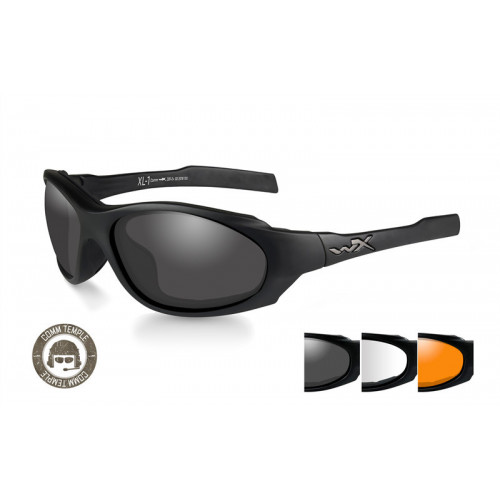 WILEY X - XL-1 AD COMM Smoke/Clear/Rust Matte Black Frame