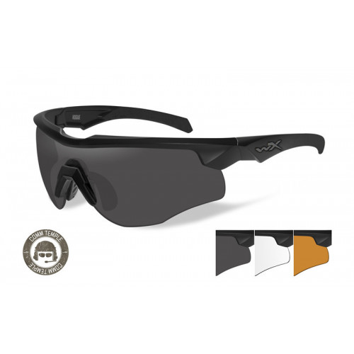 WILEY X - ROGUE Grey/Clear/Light Rust Matte Black Frame