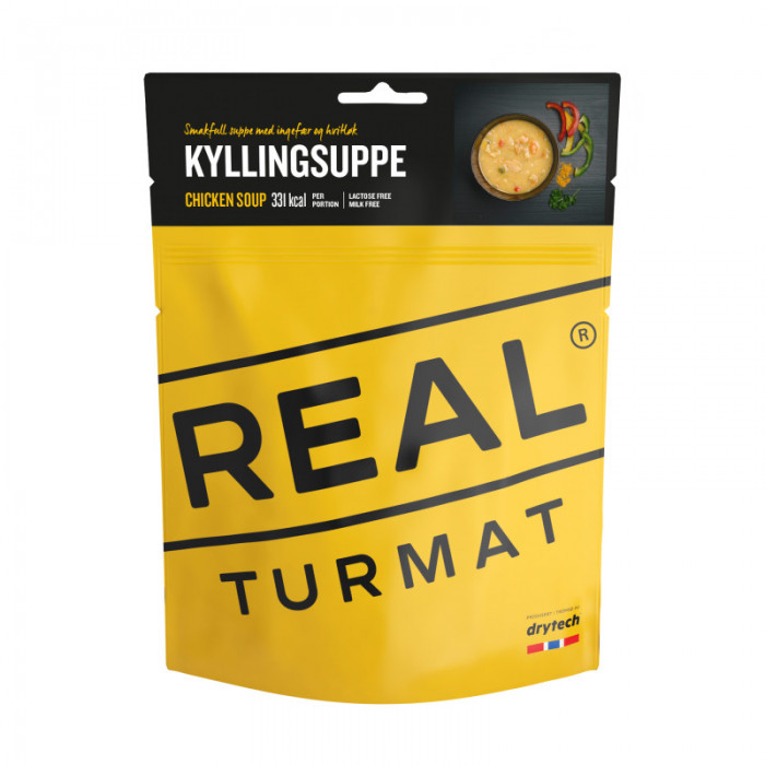 REAL Drytech - Soupe au poulet TURMAT