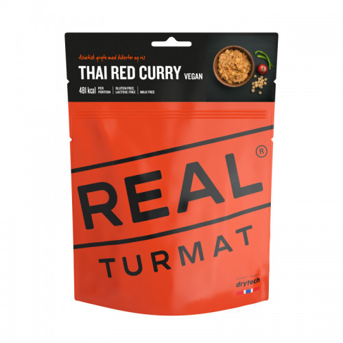 REAL Drytech - Thai Red Curry vegan TURMAT