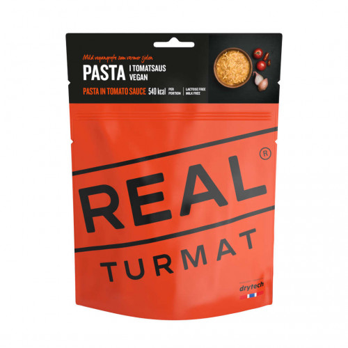 REAL Drytech - Pasta in salsa al pomodoro vegano TURMAT
