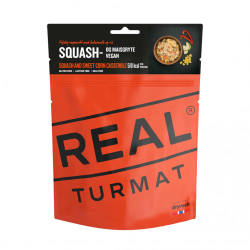 REAL Drytech - Stufato di mais e zucchine TURMAT