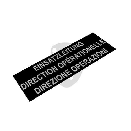 "OTD - Reflective Patch ""DIREZION OPERAZIONI"""