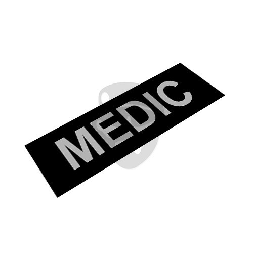 "OTD - Reflective Patch ""MEDIC"""