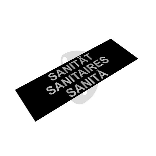 "OTD - Reflective Patch ""SANITÀ"""