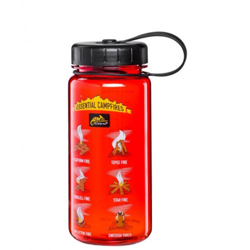 Helikon Tex - TRITAN™ BOTTLE Wide Mouth Campfires (550 ml) - Red/Black