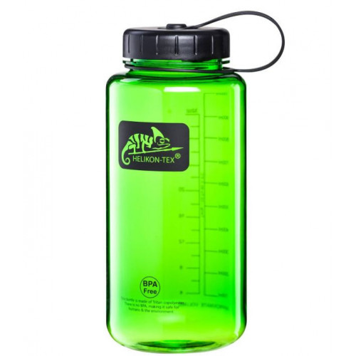 Helikon Tex - TRITAN™ BOTTLE Wide Mouth (1 Litr) - Green / Black A