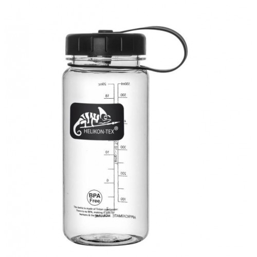 Helikon Tex - TRITAN™ BOTTLE Wide Mouth (550 ml) - Clear