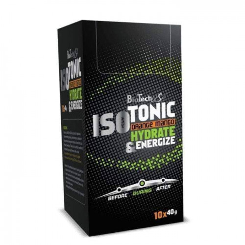BioTechUSA - IsoTonic Orange-Mango 10x40g