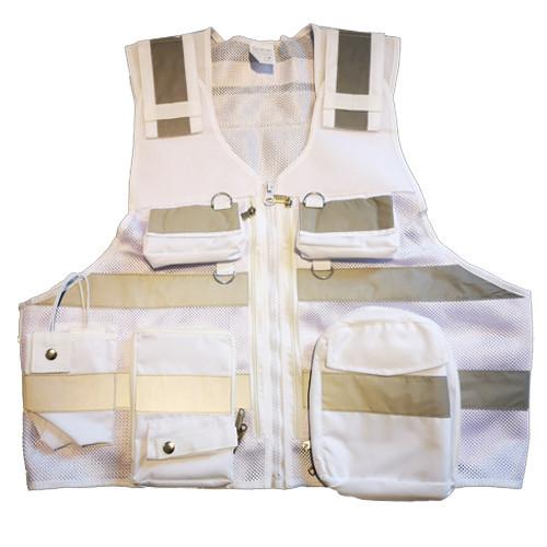 DIVICUS - Reflective vest PRO 2.0 Bianco