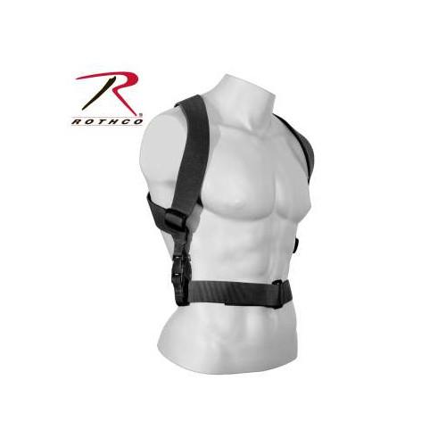 ROTHCO - Combat Suspender Black