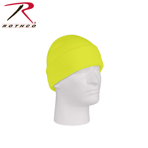 Rothco - Fine Knit Watch Cap Safety Green