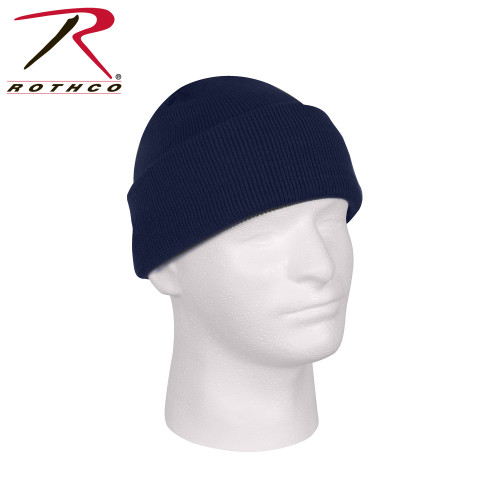 Rothco - Fine Knit Watch Cap Navy Blue