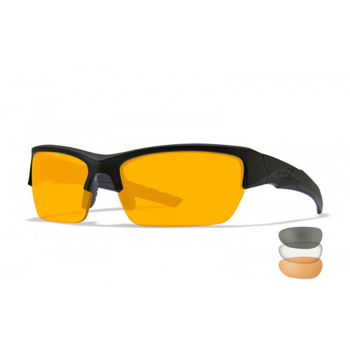 WILEY X - VALOR Clear/Grey/Light Rust Matte Black Frame