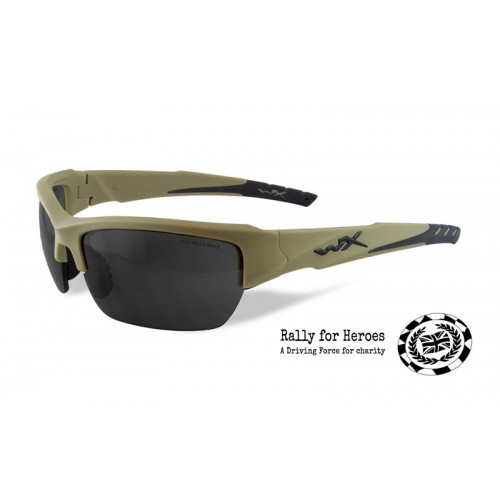 WILEY X - VALOR Smoke Grey Tan Frame
