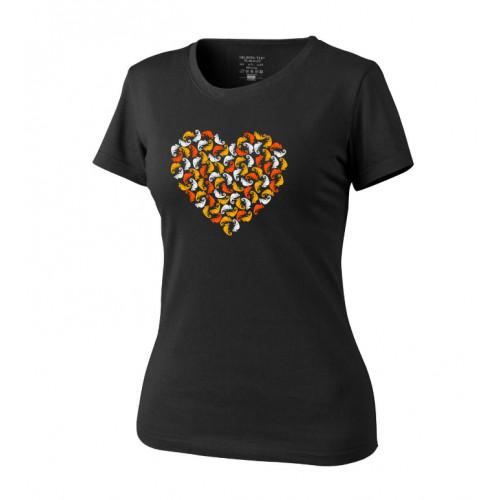 Helikon Tex - WOMEN'S T-SHIRT (CHAMELEON HEART) Black
