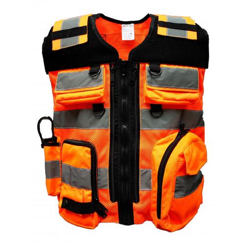 DIVICUS - Reflective vest PRO 2.0 Orange