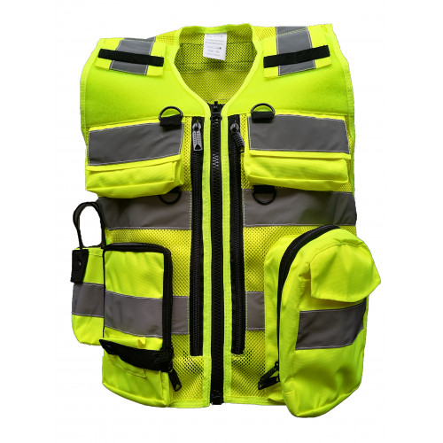 DIVICUS - Reflective vest PRO 2.0 Yellow-Lime