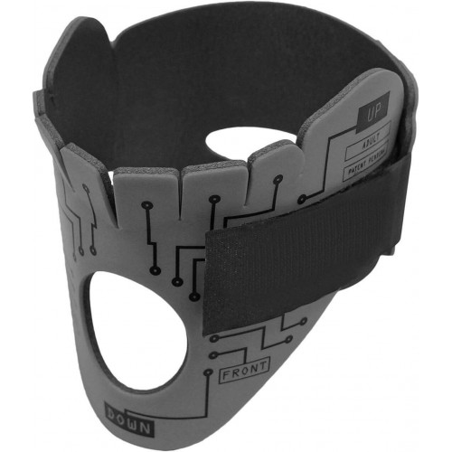 PerSys - Necklite Moldable Neck Brace for Adults Tactical Grey