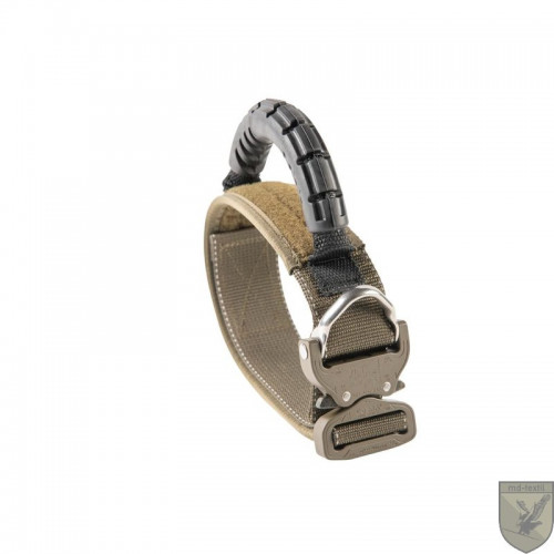 MD-Textil - Working Dog Collar 45mm Rubbergrip Olive