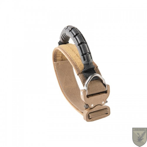 MD-Textil - Working Dog Collar 45mm Rubbergrip Coyote