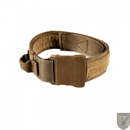 MD-Textil - Working Dog Collar 45mm Noise reduced Coyote