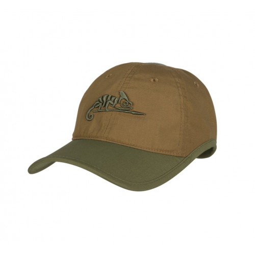 Helikon Tex - Logo CAP - Polycotton Ripstop COYOTE/OLIVE GREEN