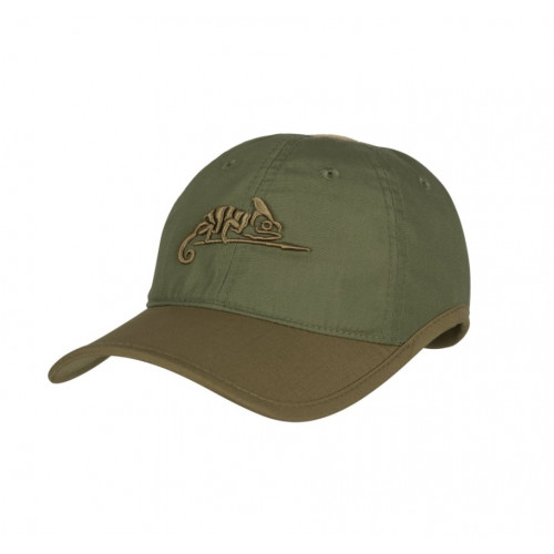 Helikon Tex - Logo CAP - Polycotton Ripstop OLIVE GREEN/ADAPTIVE GREEN